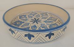 Blue Pottery, Pottery Plates, Ceramic Plates, Ceramic Pottery, Pottery Painting, Ceramic Painting, Ceramic Art, Hand Painted Plates, Hand Painted Ceramics