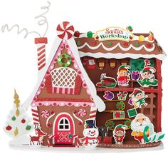 Get the Santa's Workshop 3D Structure Foam Craft Kit By Creatology™ at Michaels.com. Elves are waiting to start working, and all your kids need to do is set up Santa's workshop using this foam craft kit by Creatology.