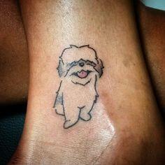 Bildergebnis für dog minimalist tattoo
