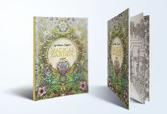 Magical Garden adult coloring book #coloringbook #adultcoloringbook #coloring #illustration #drawing ##aemilianamagnus #fantasyillustration
