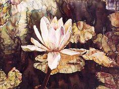 "One of my favorite Watercolor paintings -- ""Listening Lily"" by Joseph Raffael Watercolor Landscape, Floral Watercolor, Watercolor Paintings, Watercolors, Paintings Famous, Art Paintings, Painting People, Flower Art, Art Flowers"