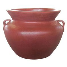 Ravenna Pottery 14 in. Clay Smooth Handle Pot