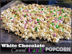 ... Pinterest | Popcorn recipes, White chocolate popcorn and Popcorn balls