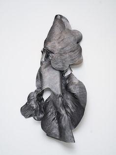 Magical Urbanism In Artwork // Mathilde Roussel Modern Sculpture, Abstract Sculpture, Sculpture Art, Abstract Art, Night Gallery, Artistic Installation, Paper Drawing, Wall Sculptures, Botanical Illustration