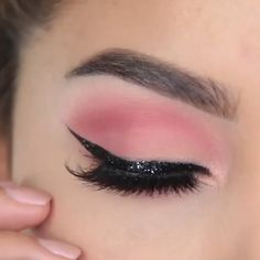 Fall Eye Makeup, Cute Eye Makeup, Bridal Eye Makeup, Pink Eye Makeup, Simple Eye Makeup, Brown Eye Makeup Tutorial, Makeup Looks Tutorial, Makeup Tutorial For Beginners, Makeup Brush Uses