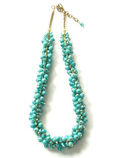 Parade necklace turquoise
