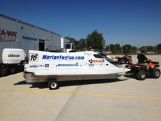 Champ Boats F1 | Champion Boat Racer Tim Seebold testing F1 PROP Tour boat at Lucas Oil ...