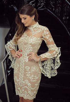 Style inspiration pic via Cute Dresses, Beautiful Dresses, Short Dresses, Prom Dresses, Formal Dresses, Wedding Dresses, Kelsey Rose, Look Chic, Mode Style