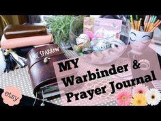 War Binder/ Prayer Journal: Set Up & Walk Through : TN, SHEEK not CHIC sparrow now I know! - YouTube