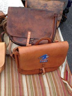 old post mail bag - work bag