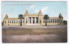 Court House Riverside California 1910c postcard. $5.00, via Etsy.