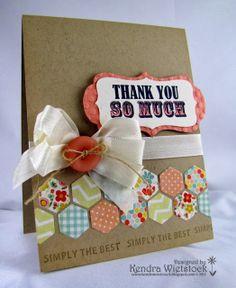Kendra's Card Company: Sweet & Simple TY