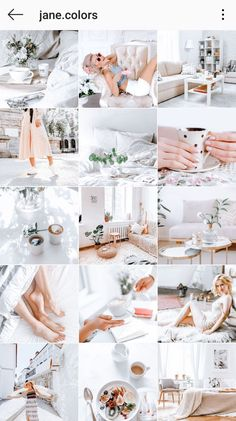 Light and Airy Lightroom Preset That Will Seriously Make Your Feed Stand Out. Bright Mobile Lightroom Preset for Cohesive Insta Feed. Instagram Feed Theme Layout, Instagram Themes Vsco, Best Instagram Feeds, Cute Teen Rooms, Living Room Decor Inspiration, Pastel Wallpaper, Lightroom Presets, Photos, United States