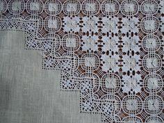 Detalle Mantel Calado Marañuela