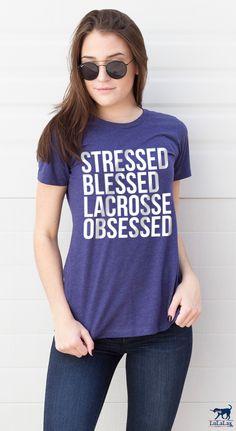Get in the game with the #lacrosselife collection! For players, parents and fans who live and love that lacrosse lifestyle!