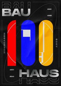Bauhaus 100 anos Dots Design, Print Design, Web Design, Graphic Design, Design Bauhaus, Bauhaus Art, Print Layout, Layout Design, Brutalist Design