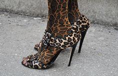 Trending: Animal print on animal print  ZsaZsa Bellagio: STREET STYLE
