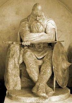 Grandpa Gorm the Old Harthacnut Knudsson, King of Denmark c900-c958, father of Harald Bluetooth