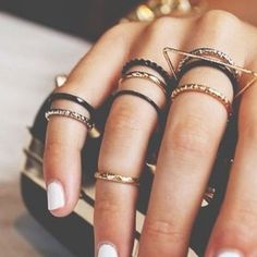 Stackable Rings #treatyourself