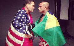 UFC | 1º round (Reprodução / Instagram)