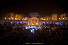 AC World Series Naples Opening Ceremonies, Piazza Plebiscito, Naples