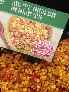 If you love Texas Pete, you'll love this spicy roasted corn and poblano salad! Zesty, spicy, and fresh, this salad lives up to that local charm!