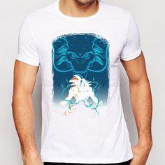 Dragon Ball Z T shirt Japan Anime Son Goku T Shirt Super Saiyan Short sleeve Tops Fashion Men Comfortable Breathability Tees-in T-Shirts from Men's Clothing & Accessories on Aliexpress.com | Alibaba Group