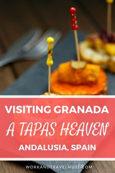 Visiting Granada : A Tapas Heaven. Are you travelling on a budget? Eat for free in Granada! Visiting Andalusia? This is a place not to miss in Spain.