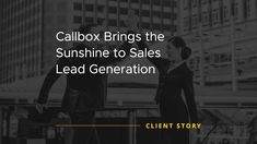 Through the quality leads generated, a positive and long term relationship was built between the Client and Callbox. Learn how'd it happened! Energy Services, Marketing Process, Work Relationships, Energy Bill, Lead Generation, Case Study, Work Hard, Bring It On, Success