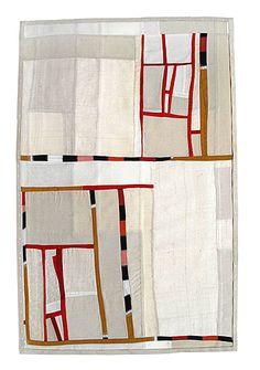 Debra Smith, Observing Presence Series #2, 2010, Pieced vintage silk