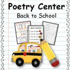 {Poetry Centers} This packet would be a great addition to your Poetry Center, ABC Center, or Writing Center! 3 Original poems with student emergent readers included! Students will identify ending punctuation, rhyming words, and tricky sight words.