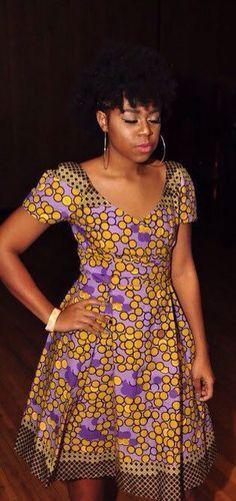 JUANJAYZZElegant Dress African Print Dress African