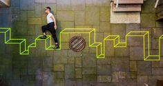 La géométrie urbaine selon Aakash Nihalani