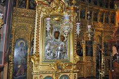 Η Αχειροποίητη Εικόνα Παναγίας της Προδρομίτισσας, Άγιον Όρος Orthodox Christianity, Orthodox Icons, Christian Faith, Miraculous, Saints, Painting, Russia, Greece, Art