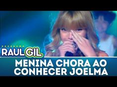 Menina chora ao conhecer Joelma   Programa Raul Gil (23/12/17) - YouTube Playlists, Raul Gil, Youtube, Crying Girl, Cry, Getting To Know, Youtubers, Youtube Movies