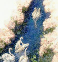 Сказочные Иллюстрации: Сказки - Гадкий Утенок | Fairy Illustrations: Fairy Tales - Ugly Duckling