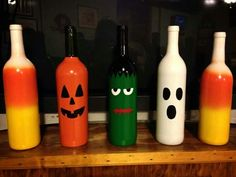 Candy corn wine bottle, what will they think of next!