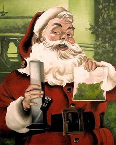 Oh Santa you old devil