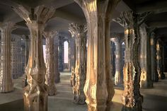 The World's Most Complex Architecture: Cardboard Columns With 16 Million Facets