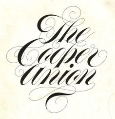by Tom Carnase #typography