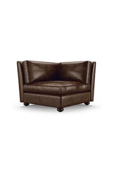 Oliver Leather Corner Chair