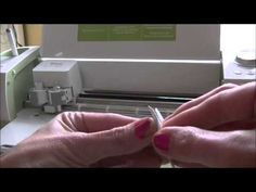 Cricut Explore Cutting Fabric - YouTube