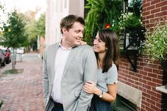 I absolutely loved Jena & Tom's fall engagement session! We met up in Old Town Alexandria- one of my favorite spots. We wandered around on some quiet and beautiful streets and even the old movie theatre where Jena & Tom had their very first date. We ended the evening down by the water with a…