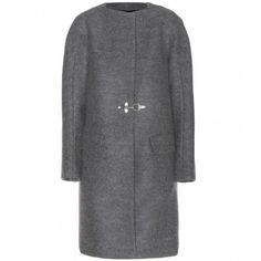 DRIES VAN NOTEN -Wool coat -THE SHAPE OF THE SEASON
