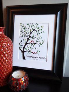Family tree Custom Gift personalized Wall Art by MDesignCompany.  Order today:  etsy.com/shop/MDesignCompany