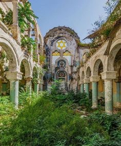 The Great Synagogue of Constanța is a disused former Jewish synagogue in the city of Constanța, Romania. [750x907] : AbandonedPorn