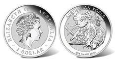 2018 Australian Koala 1oz Silver Bullion Coin