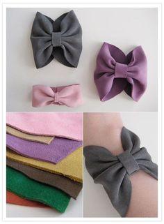 DIY bow bracelet by Oni-san