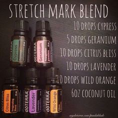 Stretch mark blend