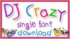 This week ONLY... get 'DJ Crazy' (to go with your crazy critters) for just $1.99!  That's 33% savings!  Sale ends February 18, 2015.